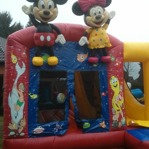 Springkasteel Mickey Mouse